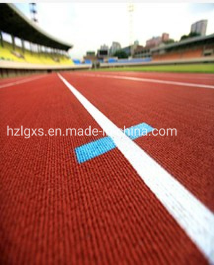 Iaaf Prefabricated Rubber Flooring for Rubber Track Runway/Athletic Track