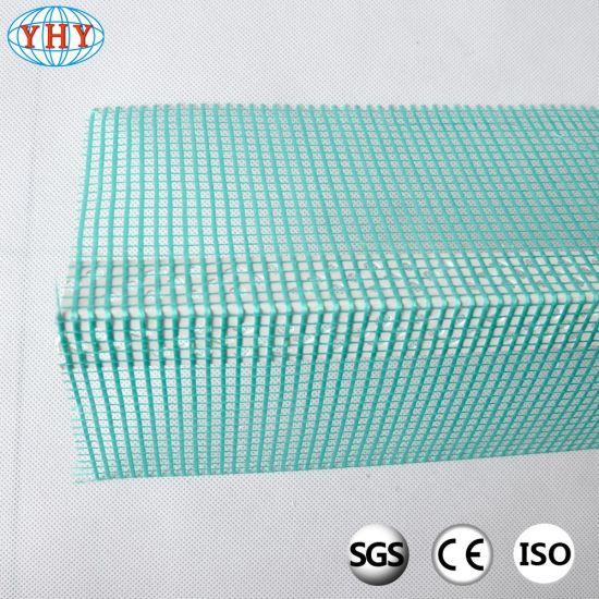 Rigid PVC Profile with The Tissue for Corner