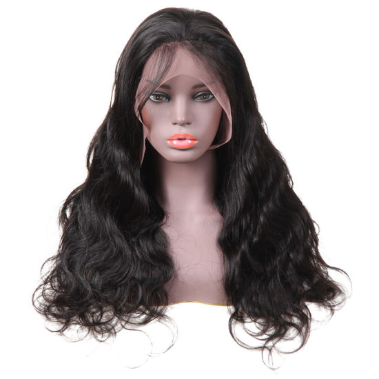 Top Brazilian Body Wave Glueless Natural Hairline Full Lace Wig Wholesale Cheap Human Hair for Women