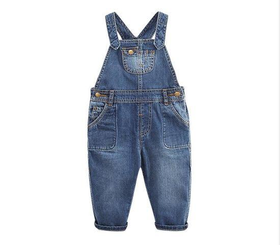 8ceaf6c6 China Baby Jumpsuit Jeans Kids Denim Wear Eco Friendly Cotton Jeans ...