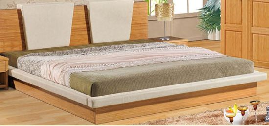 Carbonized Bamboo Bed Veneer Bamboo Bed pictures & photos