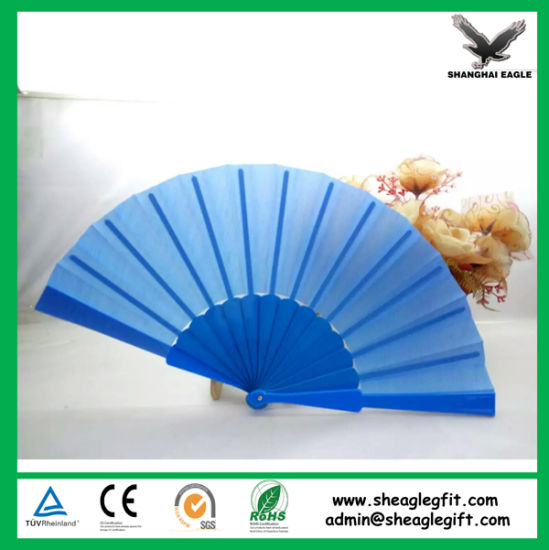 High Quality Printed Custom Nylon Folding Fan pictures & photos