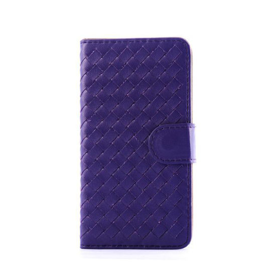 Weave Wallet Leather Case Flip Card for iPhone 6 pictures & photos
