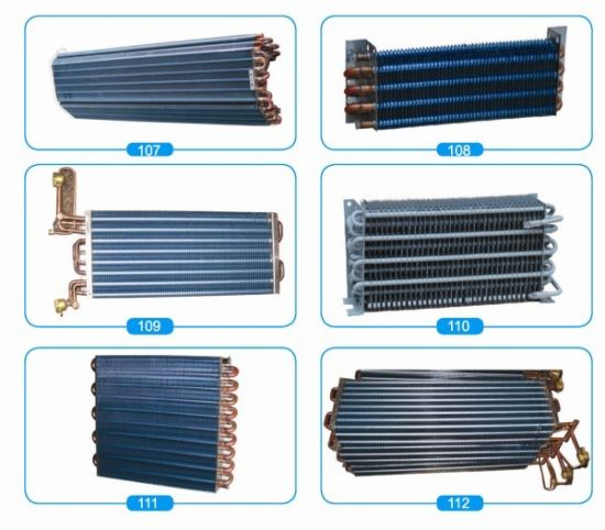 Copper Tube Aluminium Finned Evaporator Coil for Fridge pictures & photos
