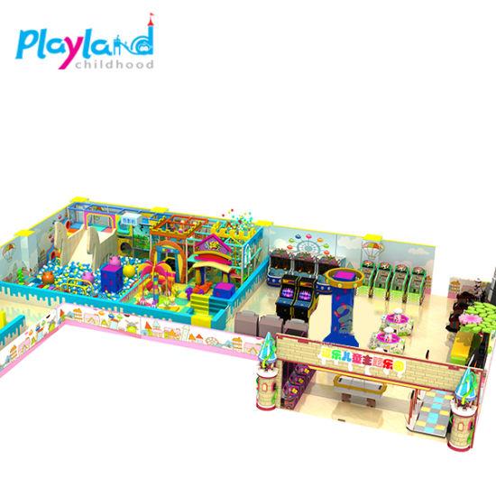 Hot Indoor Playground Kids Entertainment Equipment for Sale