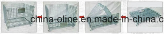Stackable Foldable Wire Mesh Container (1100*1000*890) pictures & photos