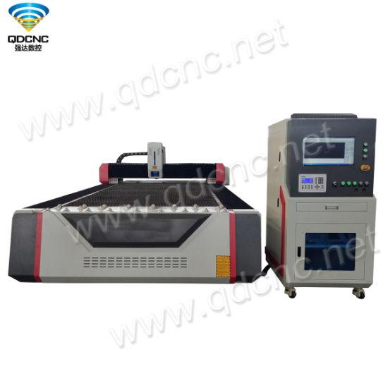 Metal Fiber Laser Cutting Machine with High Cutting Speed Qd-1325FL/1530FL