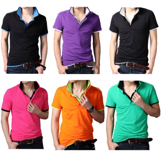 3ac2c681 Wholesale Custom Unique Polo Shirts China with Style Clothing Manufacturer  pictures & photos