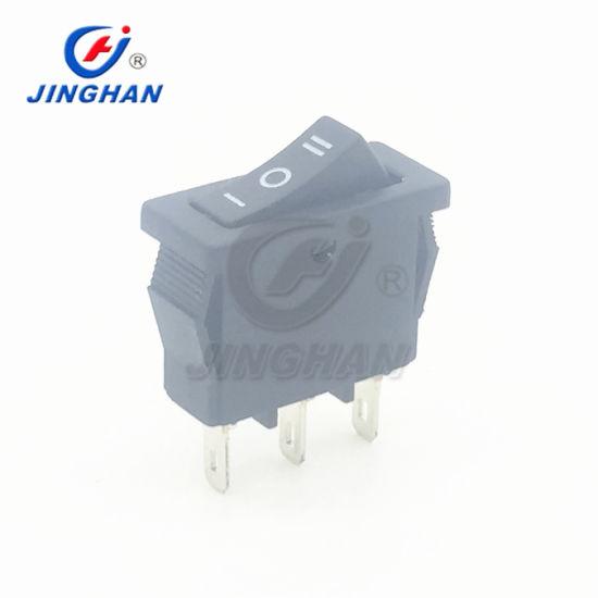 Kcd1-113/3p Defond Switches Sc767 Baokezhen Double Pole Rocker Switch