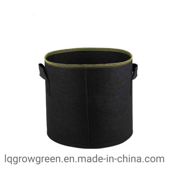 Geotextile Planting Breathable Nonwoven Fabric Planter Felt Grow Bag 5/10/100 Gallon Smart Pot Be for Growing Vegetable Potato