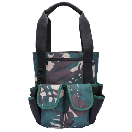 Large Opening Capacity Bucket Tote Organizer Hand Carrying Gardener Electrician Tool Bag