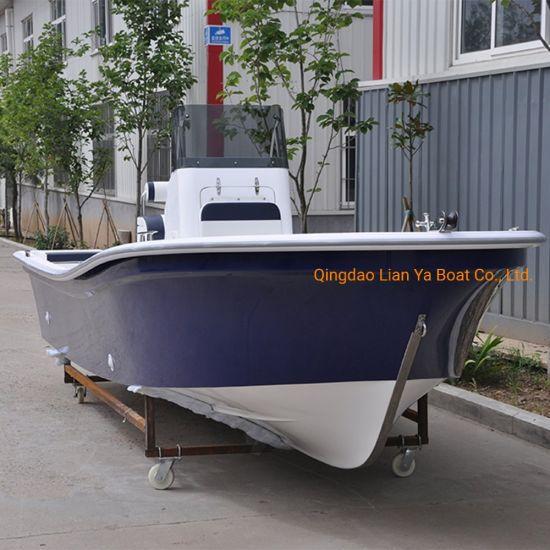 Liya 19FT Fiberglass Fishing Boat Panga Boat Sport Motor Boat for Sale