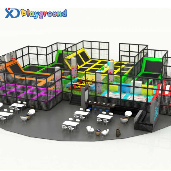 Factory Price Bungee Trampoline Park for Children