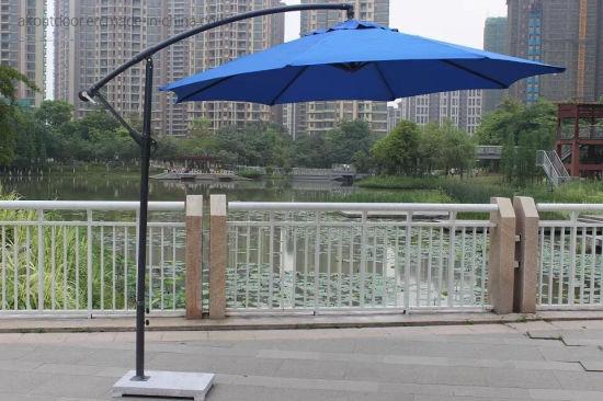 Leisure Outdoor Sunshade Garden Furniture Roman Double Roof Garden Parasol