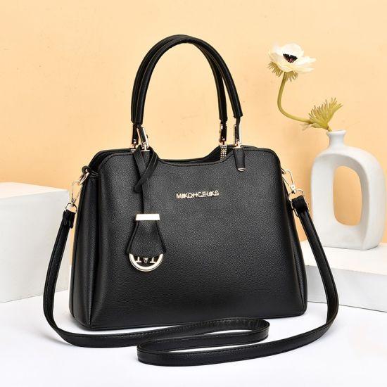 High Quality Custom Logo Women Handbag Full Grain Leather Cowhide Lady Handbag Luxury Designer Cow Leather Hand Bags Handbag Brand