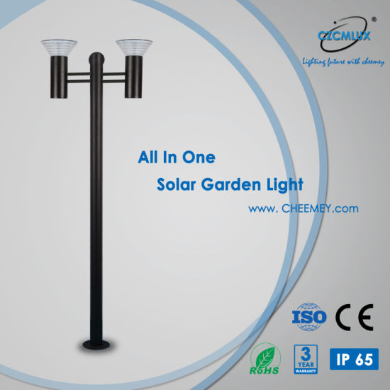 High Lumens LED Solar Garden Light for Projects