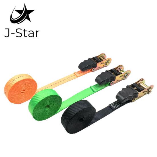 """1"""" Color Rubber Ratchet Strap, Ratchet Double Hook Belt"""