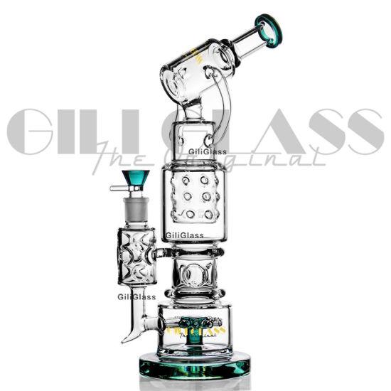 Giliglass Water Pipe Rig DAB Rig Pipe Hookah Smoking Pipe Glass Smoking Pipe Dabbing Dabrig Recycler Oil Rig