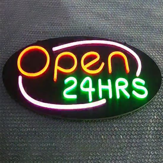 5V 12V Custom Acrylic LED Neon Sign for Indoor Outdoor