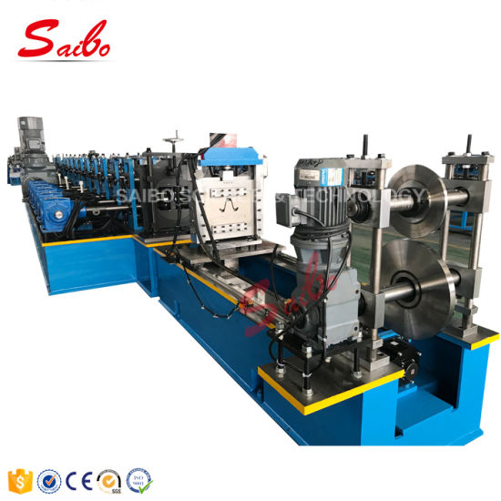 Solar Panel Construction Hat and Cu Purlin Roll Forming Machinery with and Height Adjust Auto