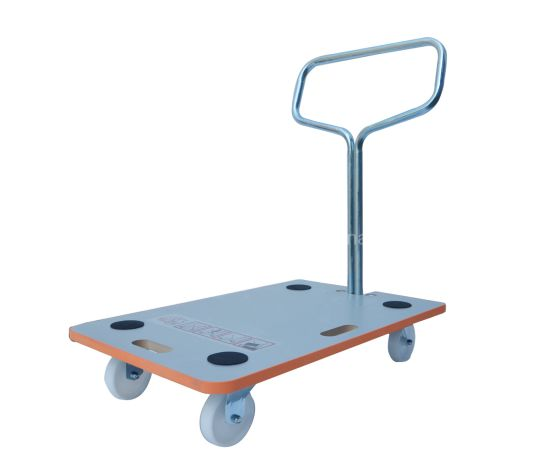 200kg Wooden Foldable Hand Truck with Pulling Handle