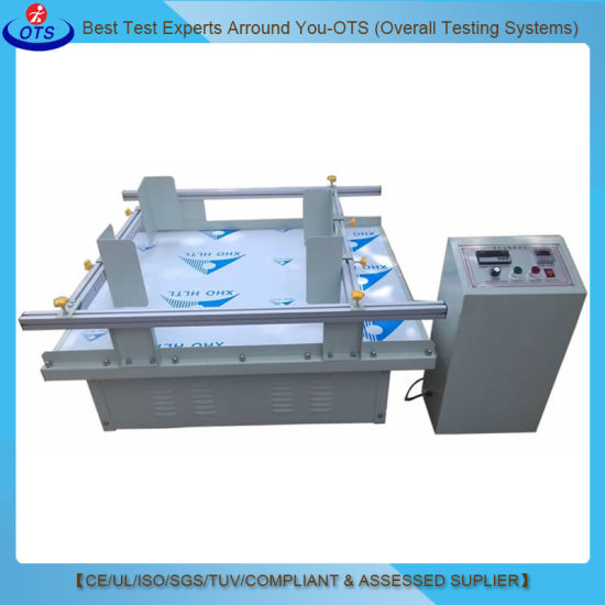 Simulation Packaging Box Transportation Vibration Testing Machine