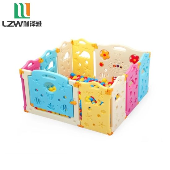 Sea Theme 8+2 Baby Play Yard Kids Playpen