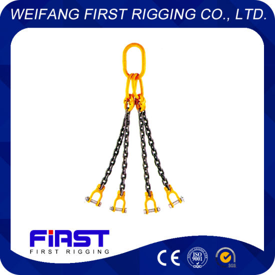 High Quality Rigging Hardware Single Four Legs Chain Sling