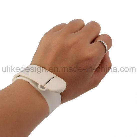 OEM USB 2.0 Wrist Band Brand /Bracelet USB Flash Disk/ Flash Drive