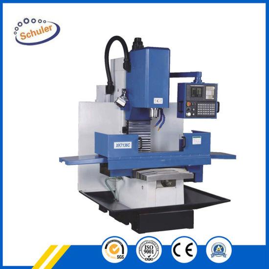 Economical Small Mini CNC Vertical Milling Machine (XK7132)