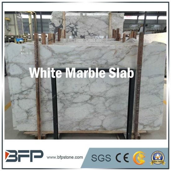 Hot Sale White Marble Slab for Bathroom Wall/Floor Tile pictures & photos