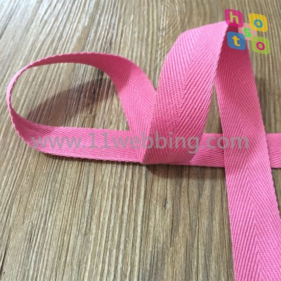 Herringbone Cotton Binding Webbing for Bags and Clothing Accessories pictures & photos