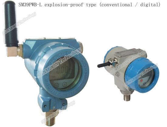 Explosion Proof Wireless Liquid Silicon Pressure&Temperature Sensor Oil Field Application