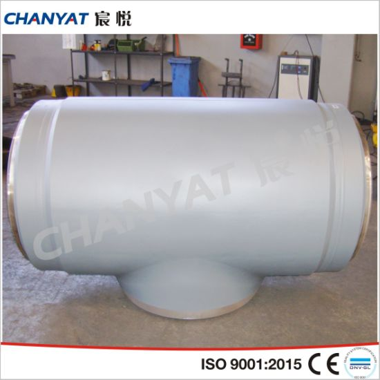 Stainless Steel Pipe Press Fitting Straight Tee pictures & photos