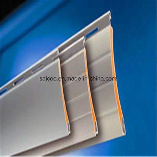 Polyurethane Foamed Roller Shutter/Polycarbonate Roll Shutter/Foam Aluminum Shutters Profiles
