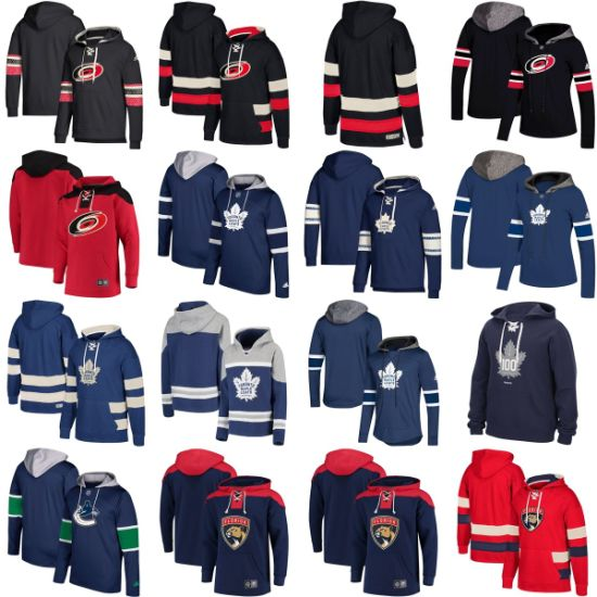 Wholesale 2019 Hurricanes Maple Leafs Panthers Canucks Sweaters Pullovers Hoodies