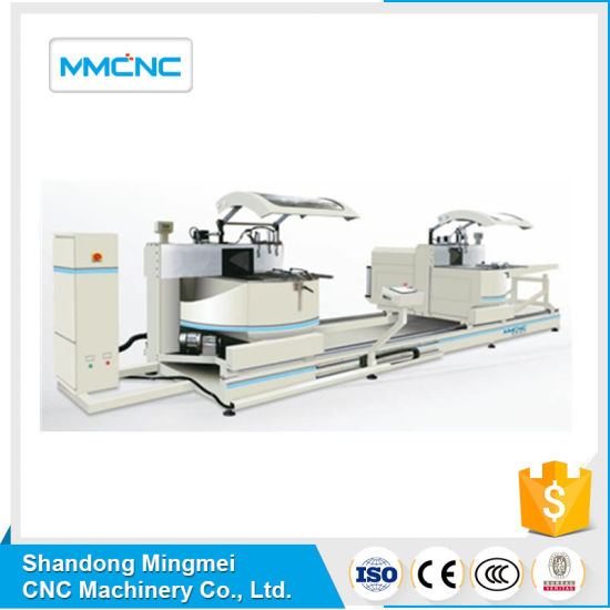 China Factory Cheap Price Double Head Mitre Sawing Machine for Compound Angles with Motorized Movement of The Mobile Head for Aluminium Window Door Making