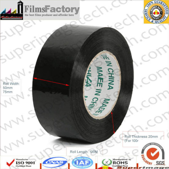 Super Tack Tape Black Super Low Tack Tape High Tack Tape pictures & photos