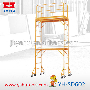 Mulitfunction Adjustable Mobile Alumunum Construction Scaffold Scaffolding (YH-SD602) pictures & photos