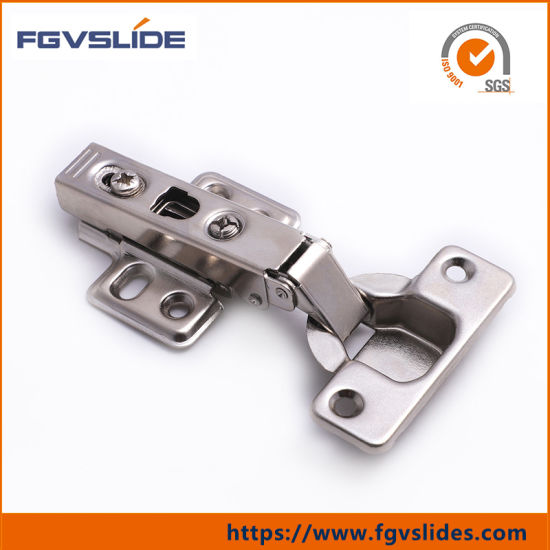China Furniture Fittings Steel Soft Close Kitchen Cabinet Door Hinge