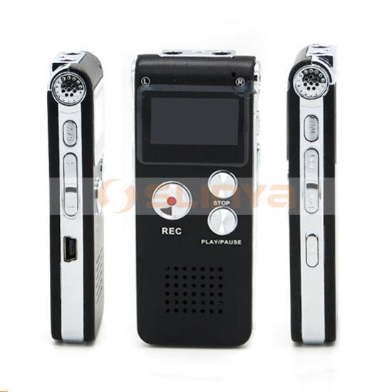 MP3 Music Player Audio Recorder 650hr 4GB 8GB Digital Voice Recorder