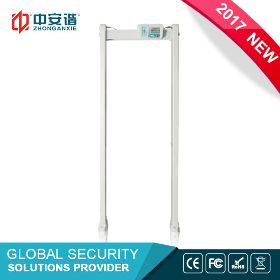 Factory Price Four Infrared Zones Door Fame Metal Detector, Detection Regions Walk Through Metal Detector pictures & photos