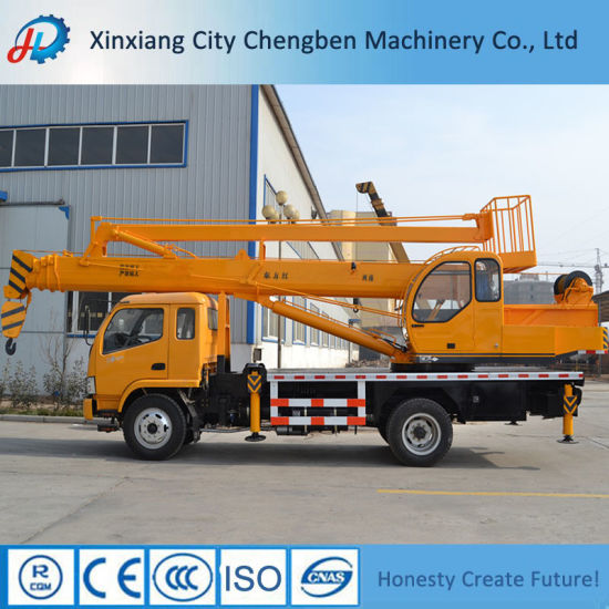 8t/10t/12t Straight Boom Crane Table with 30m Lifting Height pictures & photos