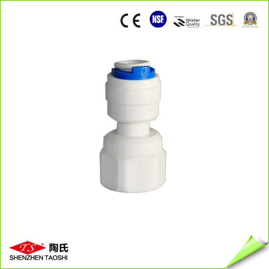 Plastic Water Tube Fittings Quick Connector Straight Joint pictures & photos