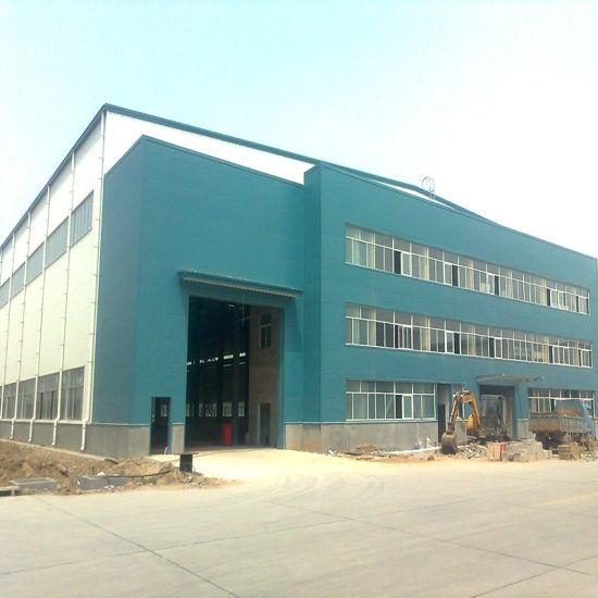 China Design Prefab Steel Structure High Quality Big Space Workshop