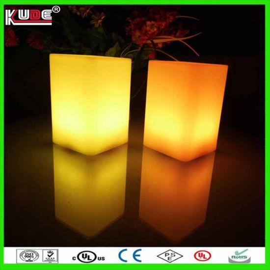 Christmas Color Change LED Light Table Lamp Toys Gifts