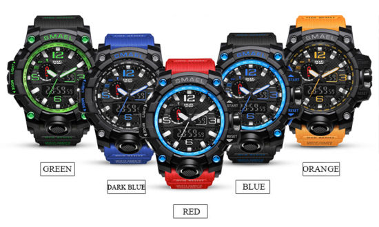 Mens Sport Dual Display Watch Electronic Quartz Watches pictures & photos