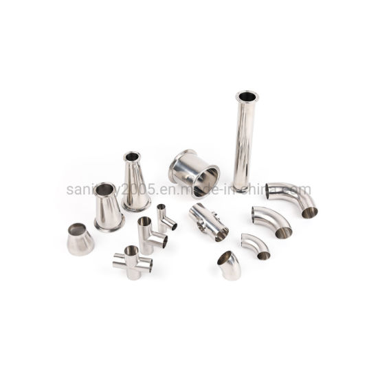 Sanitary Hygienic Stainless Steel High Purity Elbow Bend Tube Pipe Fittings