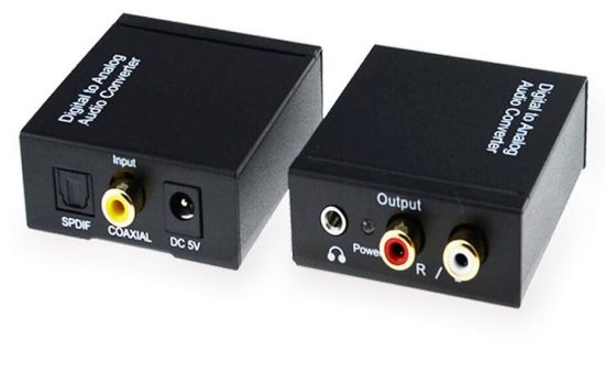 Digital to Analog Audio Converter with 3.5mm Jack pictures & photos