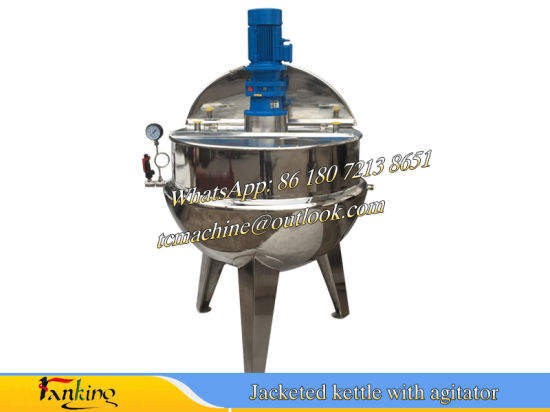 Tiltable Jacketed Kettle for Cream pictures & photos